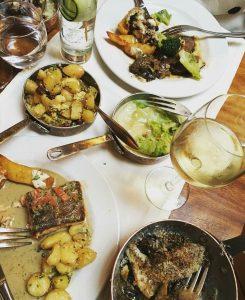 Dinner Fade Street Social Restaurant Dublin