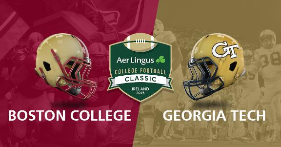 aer lingusAmerican College Football Dublin Ireland