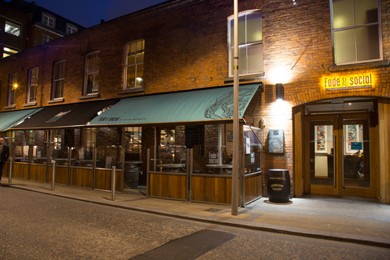 Fade street social private and corporate dining at the for Best private dining rooms dublin