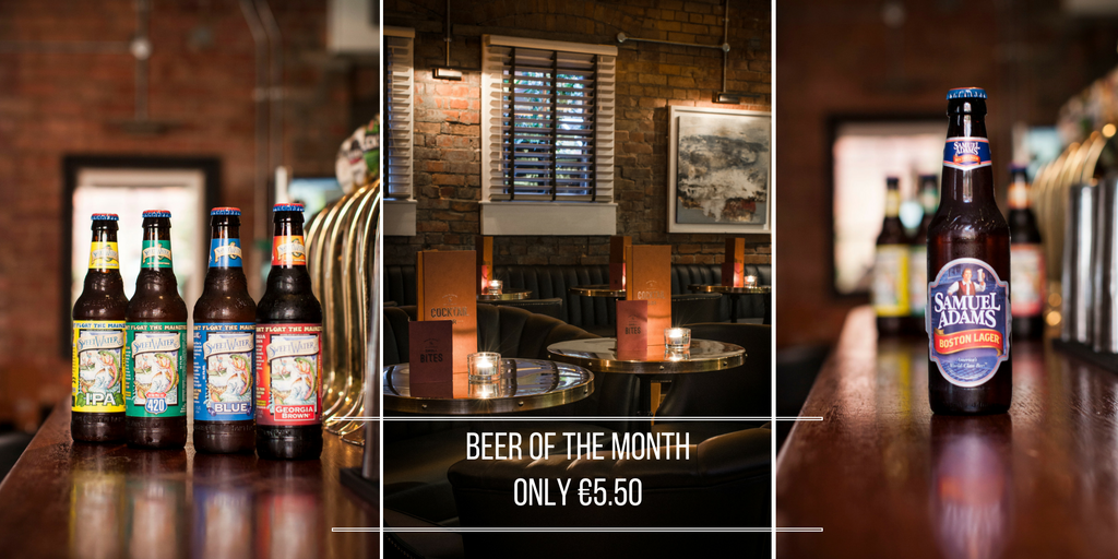 Fade Street Social Beer of the month