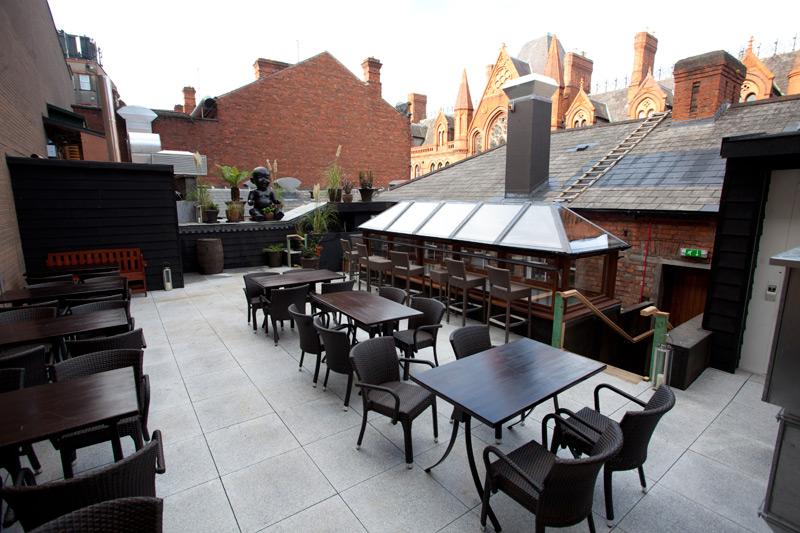 Rooftop Wnter Garden Fade Street Social Restaurant Dublin 2 Ireland